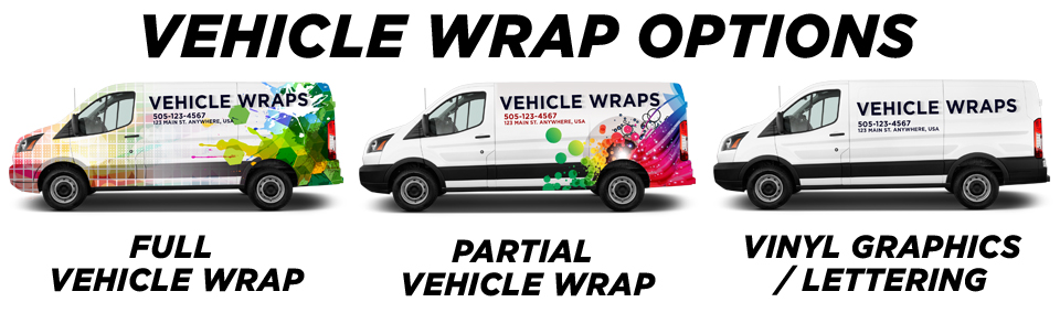 Dallas Vehicle Wraps & Graphics vehicle wrap options